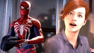 Download Spider-Man Drops His Clothes In Mary Jane's Kitchen   Spider Man Ps4 Walkthrough Part 9 Video