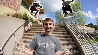 Download BRAILLE GOES STREET SKATING! Video