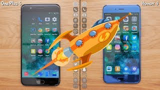 Download OnePlus 5 VS Huawei Honor 9 Speed Test: 200% Faster?[4K] Video