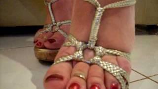 Download High heel wedges Video