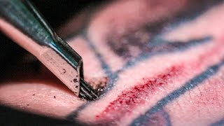 Download TATTOOING Close Up (in Slow Motion) - Smarter Every Day 122 Video