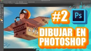 Download DIBUJAR EN PHOTOSHOP EP. 2 - CAPAS Y MODOS DE FUSIÓN - TUTORIAL ESPAÑOL Video