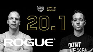 Download Rogue Iron Game | 20.1 CrossFit Open Announcement Video