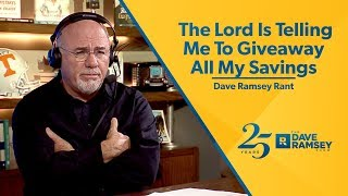 Download The Lord Is Telling Me To Give Away All My Savings Video