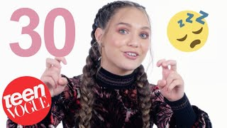 Download Maddie Ziegler on Her Major Crush on Zac Efron & Her Obsession with Harry Styles | Teen Vogue Video