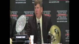 Download PART 1 DAN HAWKINS PRESS CONFERENCE AT BIG 12 Video