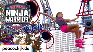 Download [FULL CLIP] AMERICAN NINJA WARRIOR JUNIOR | EPIC GIRL POWER RACING Video