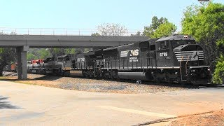 Download NS 210 with 4 FEC units trailing in Rex, Ga. Video