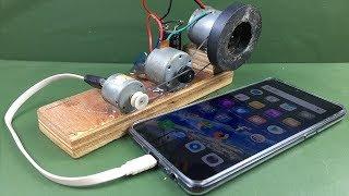 Download Free Energy 100% Mobile Charging self running machine generator using DC Motors Video