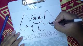 Download HOW TO DRAW MARSHMELLO LOGO Video
