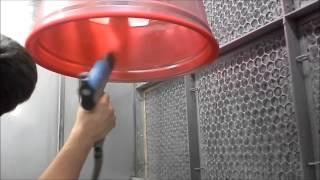 Download Wheel Werks Inc. Powder Coat Lollypop Red Video