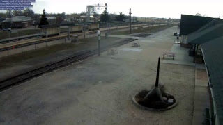 Download Galesburg Railroad Museum South Camera 2 cameras down Video