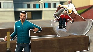 Download BUILDING CATAPULTS & RACE CARS! - Garry's Mod Gameplay - Gmod Sandbox Building Challenge Video