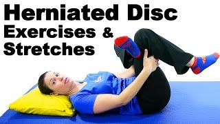 Download Herniated Disc Exercises & Stretches - Ask Doctor Jo Video