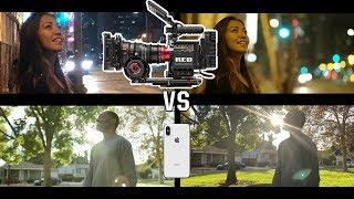 Download iphone X vs RED - Hollywood Movie Camera Video