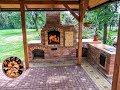 Download Zahradní krb s udírnou - stavba / DIY building outdoor fireplace with smoker and grill Video