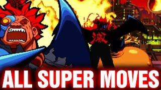 Download Marvel Super Heroes vs Street Fighter All Super Combos Video