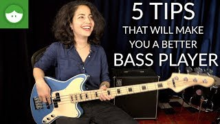 Download 5 tips that will make you a better bass player Video