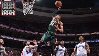 Download Giannis Antetokounmpo Is On His Way To Being a Top 5 Player Video