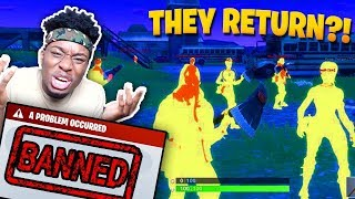 Download TWO FORTNITE HACKERS TRY TO BAN ME FOREVER! Fortnite: Battle Royale HACKERS RETURN! Video