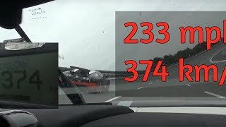 Download POWERRR! 233 mph / 374 km/h with Koenigsegg Agera R clearcarbon in 50 fps Video