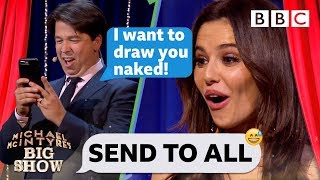 Download Cheryl SHOCKED by replies to Michael McIntyre's VERY forward text! - Send To All Video