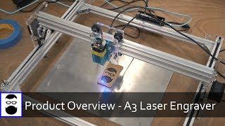 Download Product Overview - EleksMaker A3 Laser Engraver Video