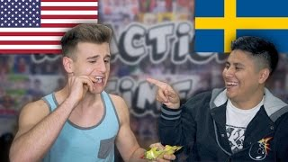 Download Americans React To Swedish Candy! Video