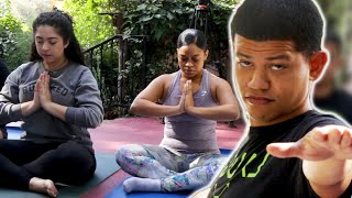 Download Latinos Try Yoga For The First TIme Video