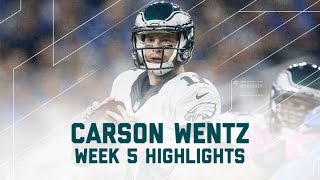 Download Carson Wentz's 2-TD Game Against the Lions! | Eagles vs. Lions | NFL Week 5 Player Highlights Video