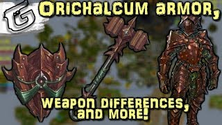 Download Orichalcum armor, Weapon differences, & more! - Mining & Smithing rework Video