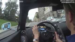 Download Short McLaren 650S Convertible testdrive in Stockholm, Sweden with Gustav Video