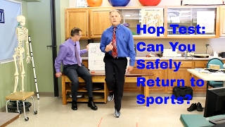 Download Hop Test: Can You Return to a Sport After a Hip, Knee, or Ankle Injury? Video