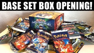 Download OPENING ORIGINAL POKEMON BASE SET BOOSTER BOX!!! Video