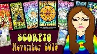 Download Tarot psychic reading SCORPIO NOVEMBER 2019 It's all Starting! Tarot psychic reading Video