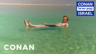 Download Conan Floats In The Dead Sea - CONAN on TBS Video
