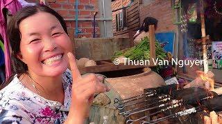 Download Cambodia || Dam Dek Rural Market || Siem Reap Province Video