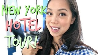 Download New York Hotel Tour! - October 04, 2016 - ItsJudysLife Vlogs Video