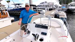 Download Boston Whaler 170 Montauk (2018-) Test Video - By BoatTEST Video