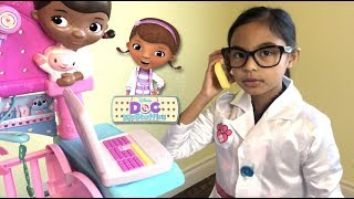Download Disney Doc McStuffins First Responders Backpack Set with Snuggles | Toys Academy Video