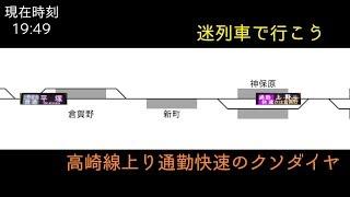 Download 【迷列車で行こう】高崎線上り通勤快速のクソダイヤ Video