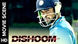 Download Viraj makes India win | Dishoom | Movie Scene Video