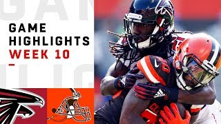 Download Falcons vs. Browns Week 10 Highlights | NFL 2018 Video