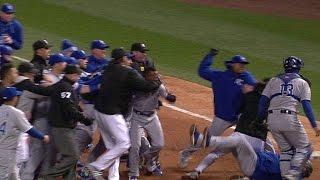 Download KC@CWS: Benches clear after Ventura, Eaton argue Video
