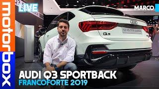 Download Audi Q3 Sportback | Il SUV-coupé compatto anche mild hybrid Video