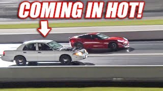 Download Supercharged Cop Car TAKES DOWN Modded Corvette AND Mustang GT500! Video