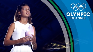 Download Meet the Greek Girl Who Blew Out the Olympic Flame 12 Years After | Flame Catchers Video
