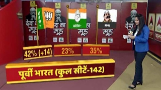Download #देशकामूड : ABP News- CSDS Survey: NDA likely to gain 14 seats in East Video