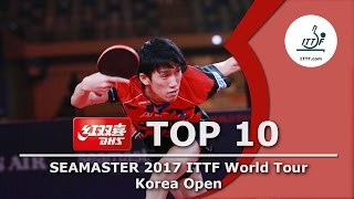 Download DHS ITTF Top 10 - 2017 Korea Open Video