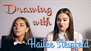 Download DRAWING CHALLENGE WITH HAILEE STEINFELD Video